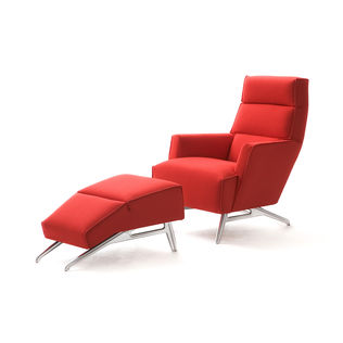 Solo fauteuil + poef