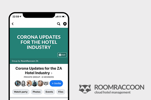 Facebook Group with Corona Updates for the Hotel Industry