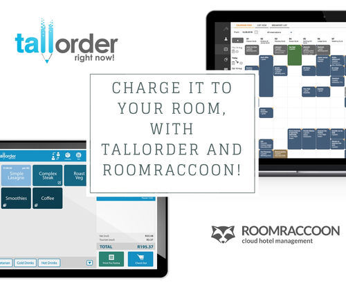 Charge it to your Room, with TallOrder and RoomRaccoon!