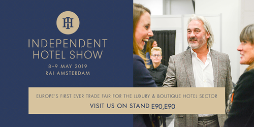 RoomRaccoon op Independent Hotel Show Amsterdam