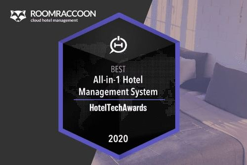 #1 Hotel Management System in de 2020 HotelTechAwards