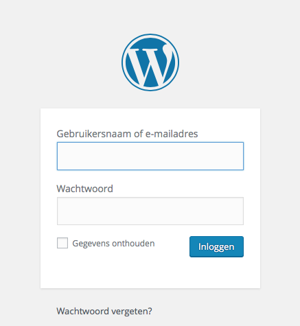 admin login wordpress