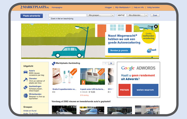 banner adverteren Google Adwords