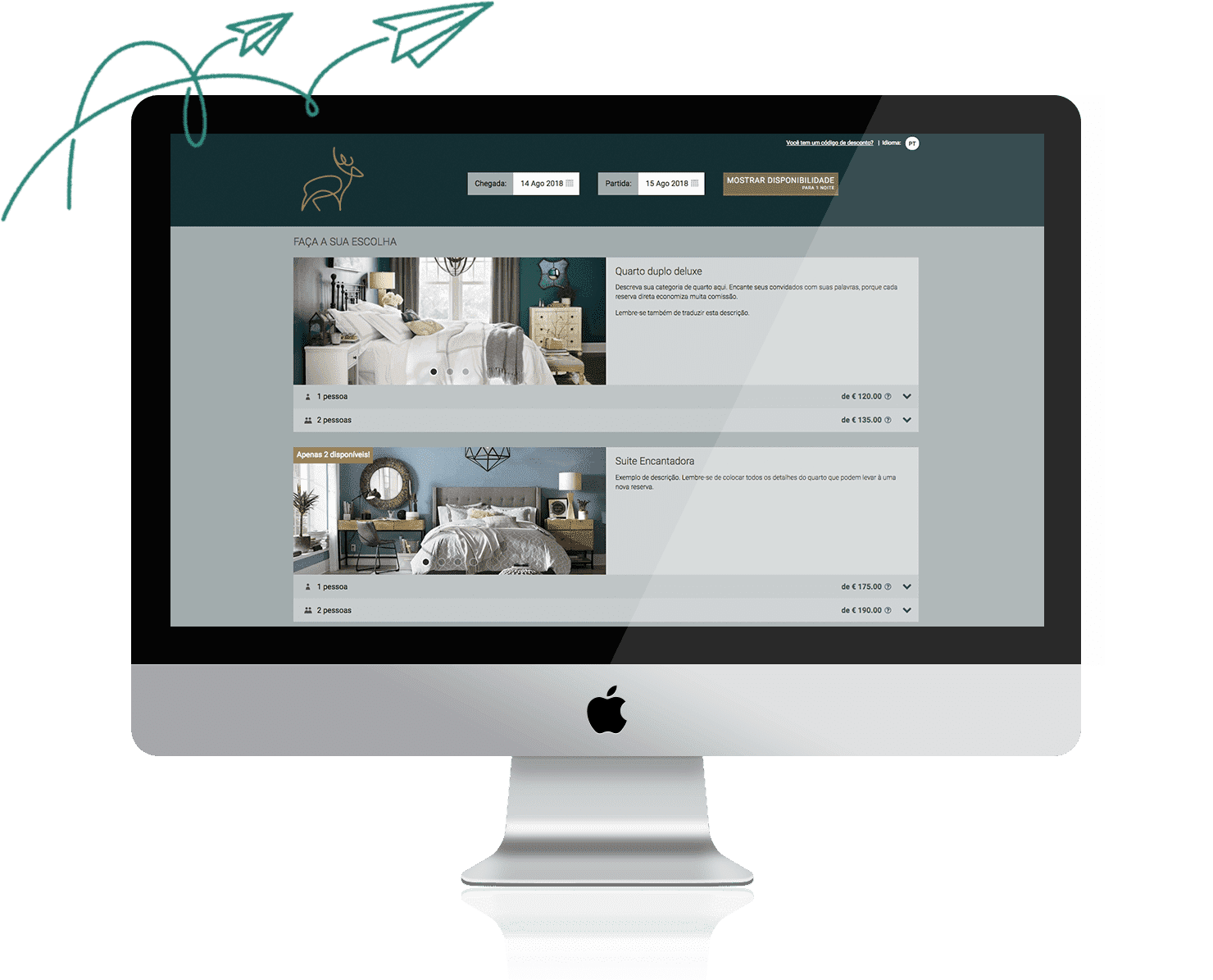 Check-in online para hotel